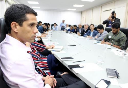 AAM e deputados reúnem sobre Reordenamento Territorial do estado