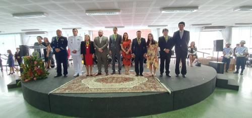 TRT11 concede medalha de honra à presidente do TCE-AM