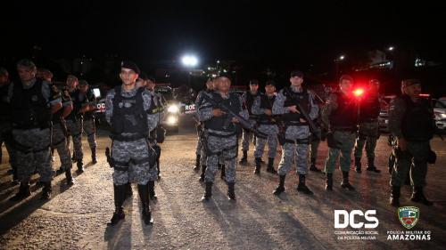 PM/AM reconhece promoção de 36 policiais por ato de bravura
