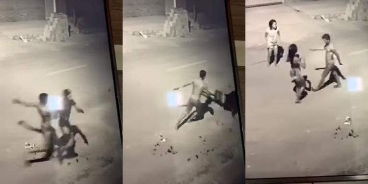 Câmeras registram homem matando outro à facadas em Itaituba (PA)