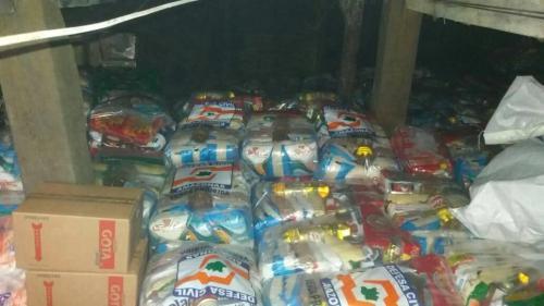 Prefeito de Barreirinha estoca cestas básicas e não entrega as famílias da enchente