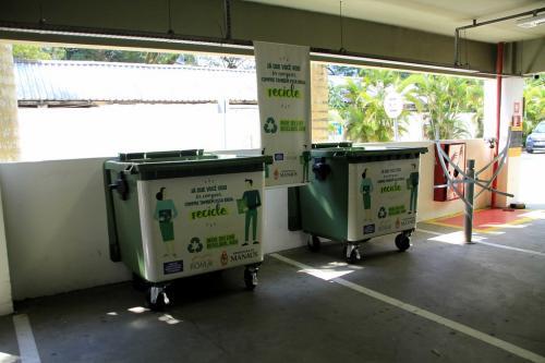 Emporium Roma vira ponto de coleta seletiva em Manaus