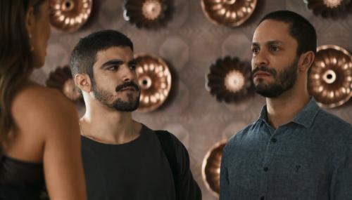 'A Dona do Pedaço': Teo passa mal ao tentar desmascarar Jô para Maria da Paz