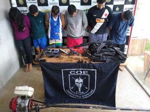 Detentos que fugiram de delegacia em Caapiranga são recapturados