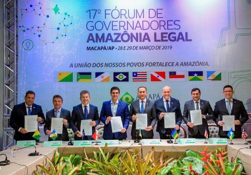 Governadores da Amazônia Legal negociarão diretamente com países europeus
