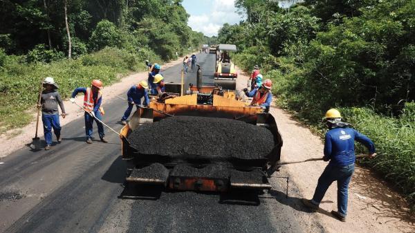 Por determinação de Wilson Lima, obras avançam em 48 municípios do AM