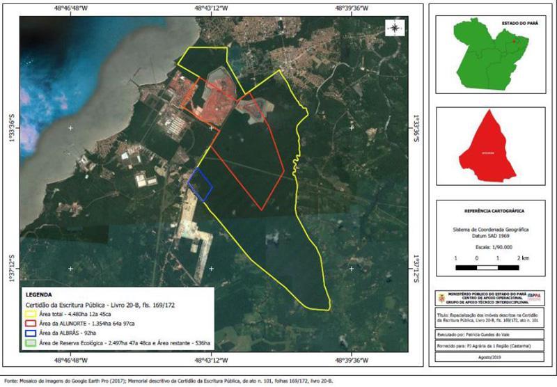 MPPA recomenda à mineradoras remoção de barragens em áreas ambientais de Barcarena