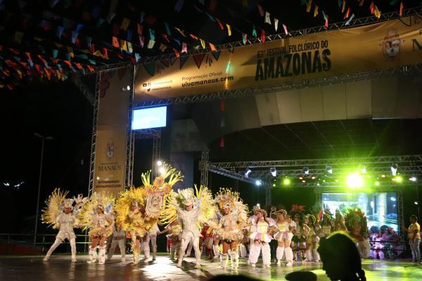 Mais de 51 mil pessoas prestigiaram 63º Festival Folclórico do Amazonas