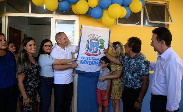 Prefeito de Santarém entrega UBS revitalizada e anuncia novas obras