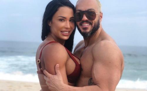 Gracyanne fala sobre suposta amante de Belo e dispara: 'pessoa oportunista'