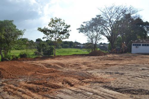 Começa construção de ginásio poliesportivo do Palmares, em Parintins