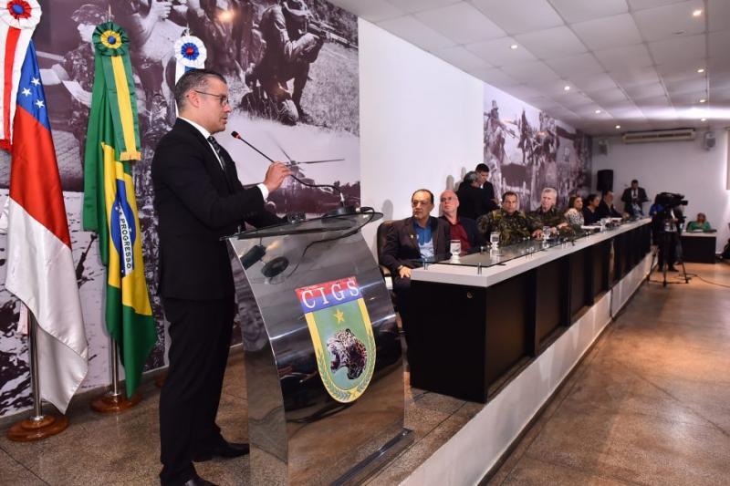 Josué Neto reitera importância do CIGS para a defesa da Amazônia