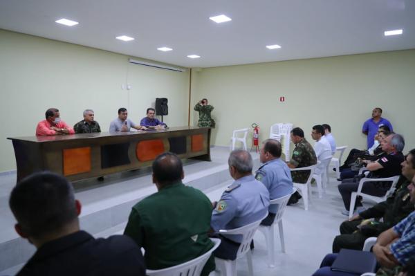 Wilson anuncia medidas para ampliar segurança em Tabatinga, na fronteira com Colômbia