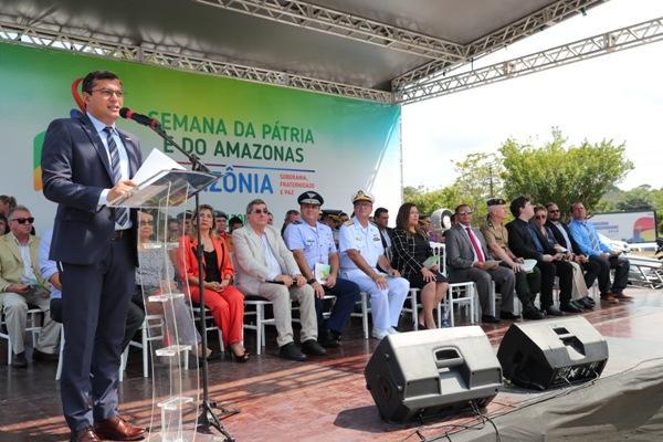 Wilson abre Semana da Pátria e confirma Vicente Nogueira na Seduc/AM
