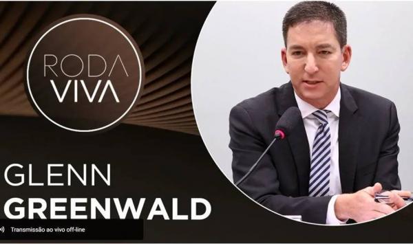 RODA VIVA   Entrevista com Gllen Greenwald, do The Intercept Brasil