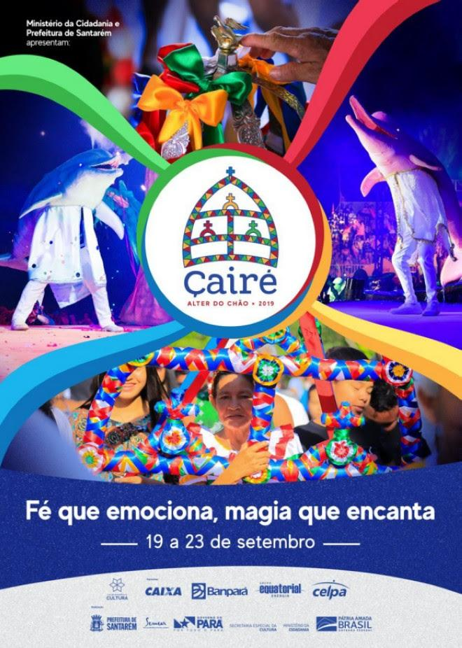 Prefeitura de Santarém apresenta programação oficial do Çairé 2019