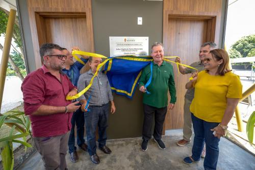 Arthur Neto inaugura Centro de Atendimento ao Turista na Ponta Negra