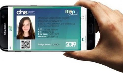 Governo federal lança carteira estudantil digital