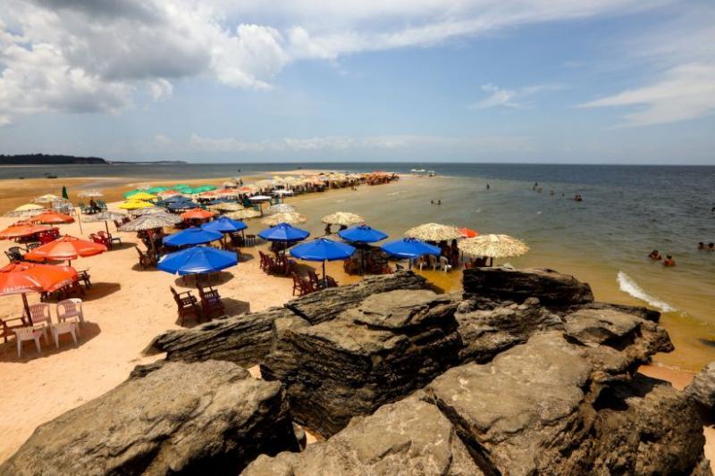 Praias de Santarém estão próprias para banho, diz Conágua