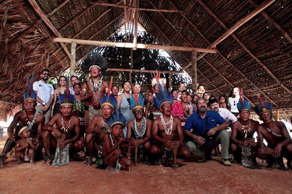 Participantes do 1º Fórum de Cidades Amazônicas vivenciam o turismo da RDS do Tupé