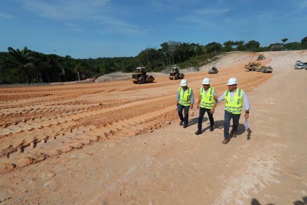 Wilson destaca melhorias no trânsito de Manaus após entrega do Anel Leste, prevista para 2021