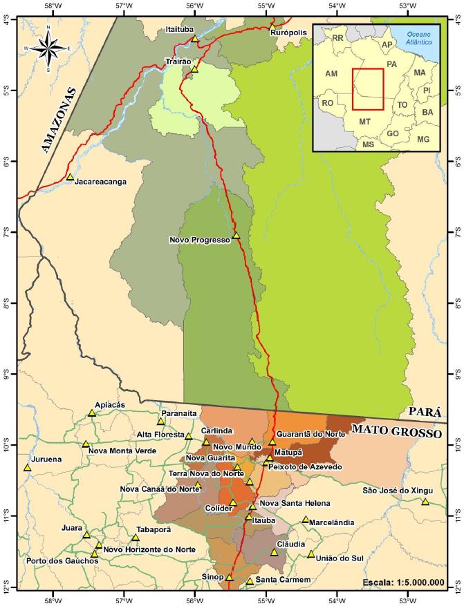 Audiência Pública vai debater implantação da Ferrogrão em Novo Progresso e Itaituba