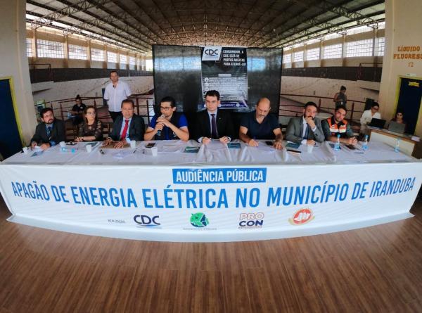 Força-Tarefa pede indenização de R$ 58,7 milhões contra Amazonas Energia por apagão