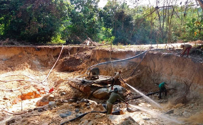 Extração ilegal de ouro na Amazônia causa danos milionários, segundo MPF/AM