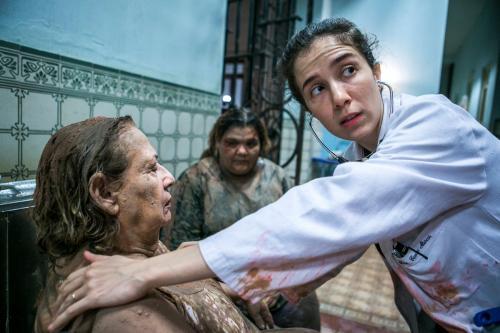 Marjorie Estiano é indicada ao Emmy, por trabalho em 'Sob pressão'