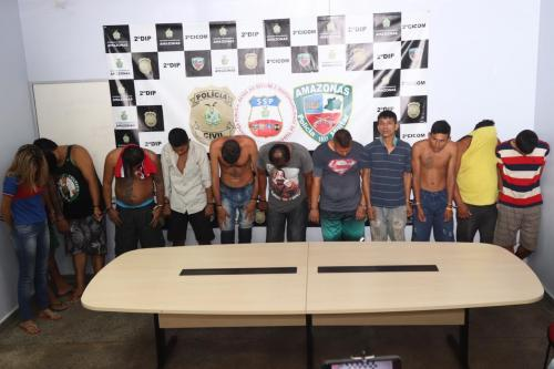 Operação da Polícia prende mais de dezenove pessoas