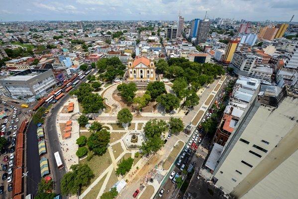 Manaus começa contagem regressiva para festa de 350 anos