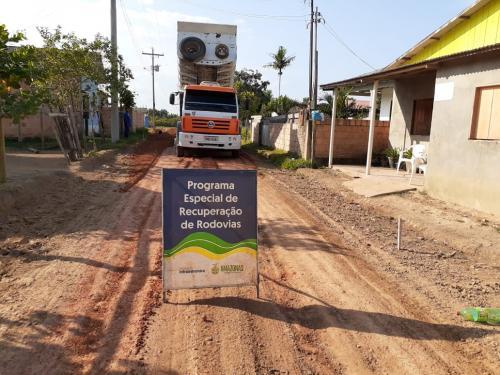 Governo recupera o sistema viário de Nova Olinda e revitaliza antigo Mercado Municipal
