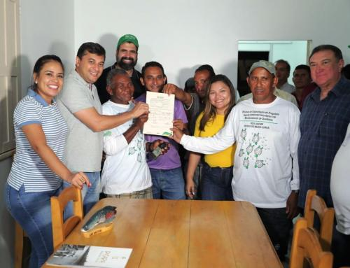 Wilson Lima visita unidade de conservação, em Carauari e autoriza manejo de quelônio