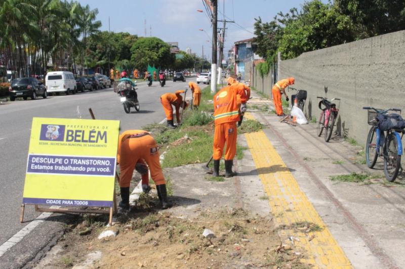 Operação Círio 2019 leva ações de limpeza à ruas de Belém