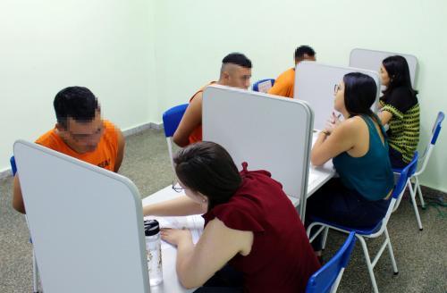 Defensoria passa a prestar atendimento em todas as unidades prisionais de Manaus