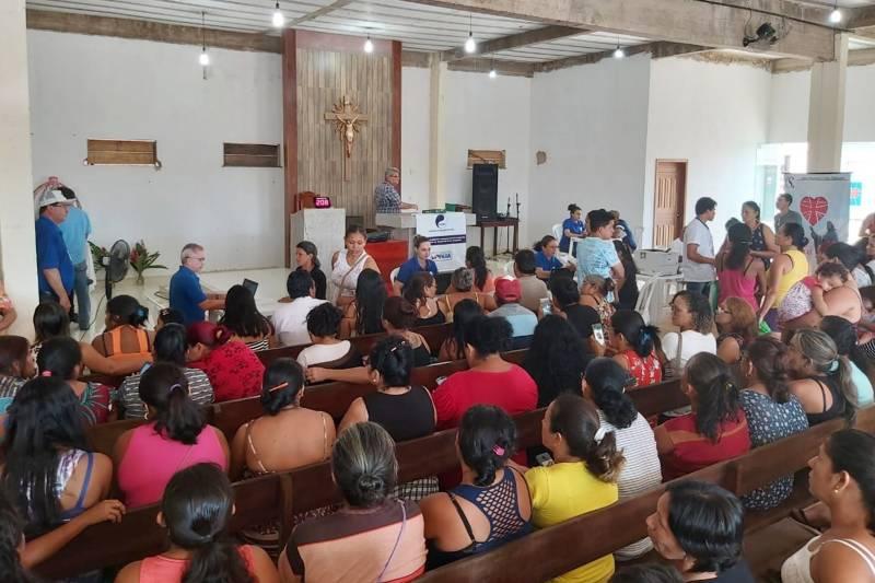 Cosanpa realiza 455 atendimentos em ação de negociação em Santarém
