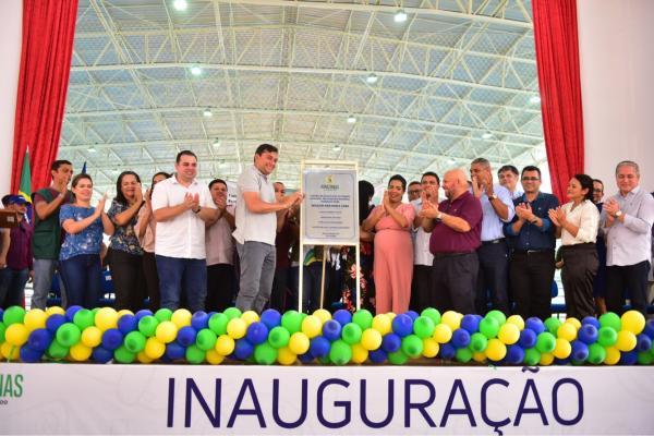 Wilson inaugura CETI em Nova Olinda e anuncia reforma de hospital