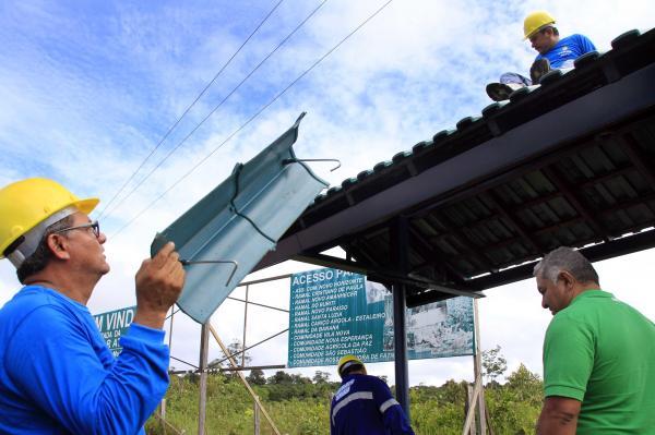 Prefeitura de Manaus vai reformar mais de 100 paradas de ônibus