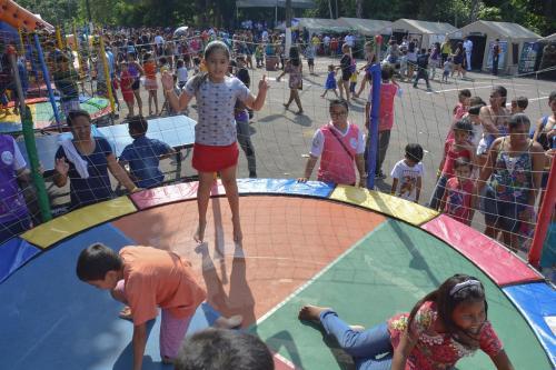 Semana de Defesa Civil, em Manaus, encerra com festa para crianças de áreas de risco