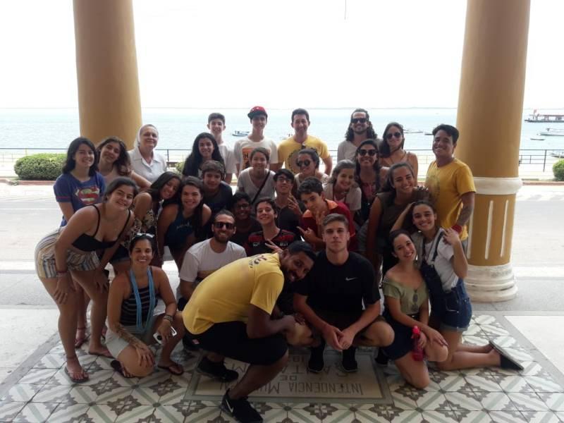 Turistas de Salvador e Rio se encantam com o Centro Cultural João Fona