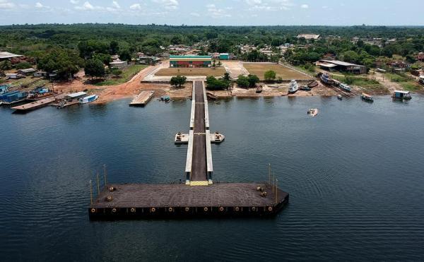 Novo porto de Maués será inaugurado em novembro, diz ministro da Infraestrutura