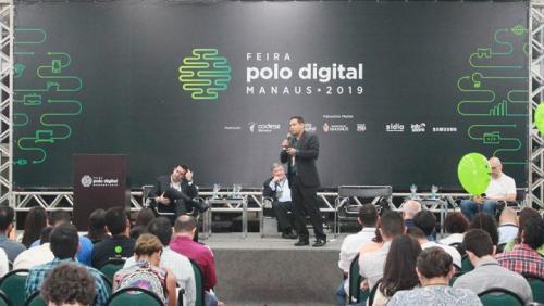 Projeto 'Manaus Inteligente' tem destaque em painel na Feira do Polo Digital