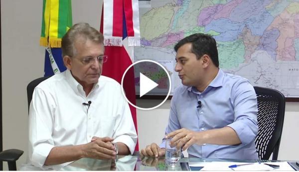 Wilson nomeia Pauderney Avelino secretário de governo em SP e Brasília