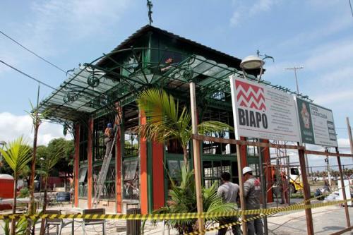 Símbolo da Belle Époque, Pavilhão Universal será entregue no aniversário de Manaus