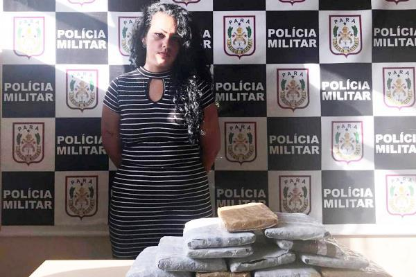 Mulher é presa com 8,5 kg de maconha 'skank', em Juruti (PA)