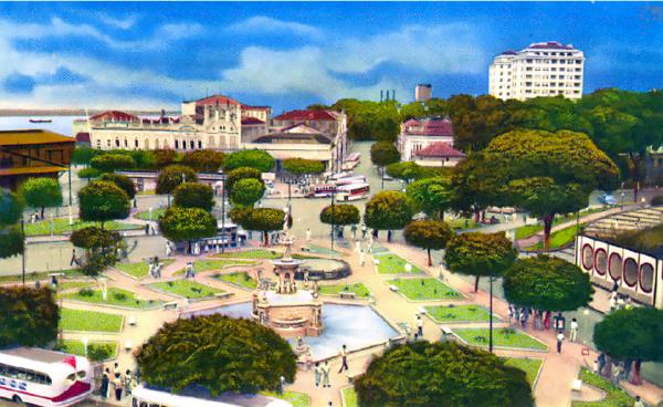 Exposição celebra aniversário de Manaus com imagens históricas da cidade