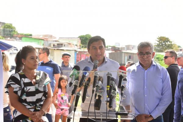 Wilson parabeniza Manaus e destaca aportes de R$ 500 milhões em infraestrutura na capital