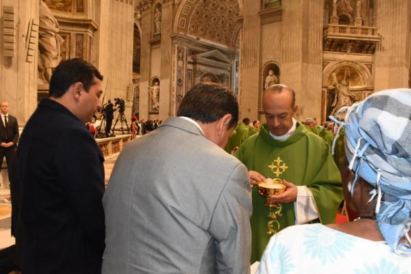 Wilson Lima participa do encerramento do Sínodo da Amazônia, no Vaticano