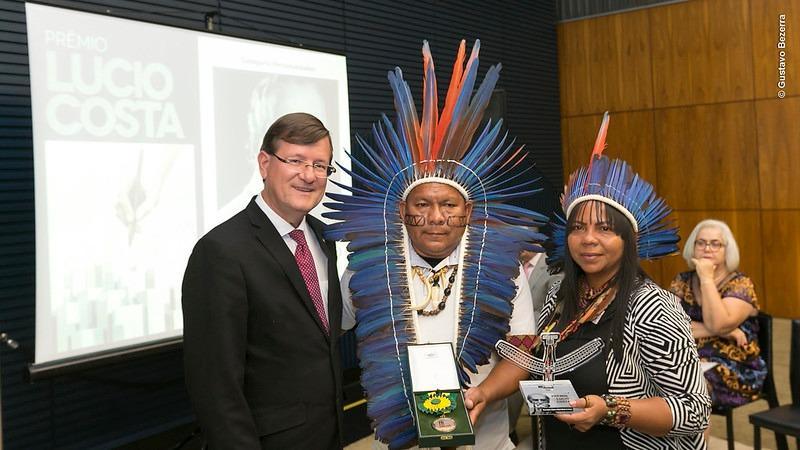 Associação Indígena de Boa Vista do Ramos recebe prêmio nacional pela construção de casas populares