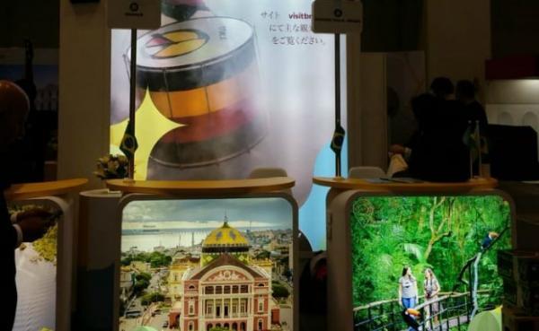 Manaus é destaque em feira de turismo no Japão